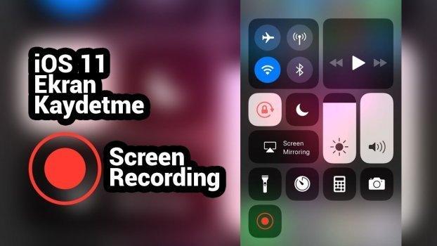 iphone X arama yaparken ses kaydetme
