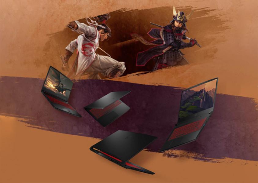 "MSI Katana GF66 11UD-207XTR i7-11800H 16GB 512GB SSD 4GB GeForce RTX 3050  Ti 15.6"" Full HD FreeDOS Gaming (Oyuncu) Notebook - incehesap.com"