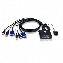 Aten CS22U 2 Port Mini USB Kvm Switch+Kablo