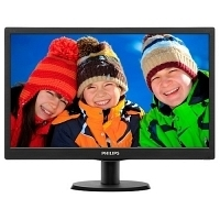 "Philips 203V5LSB26/62 19.5"" 5ms (Analog) LED Monitör"