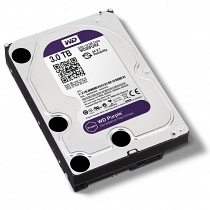 "WD Purple 3TB Intellipower Sata 3.0 64Mb 3,5"" Güvenlik Diski 7x24 (WD30PURX)"