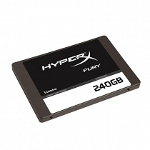 Kingston Hyperx Fury 240 GB 500/500MBs SSD Disk - SHFS37A/240G
