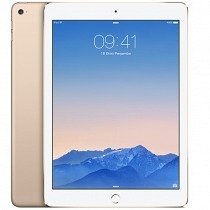 "Apple iPad Air2 128GB Wi-Fi + Cellular 9.7"" Gold MH1G2TU/A Tablet - Apple Türkiye Garantili"