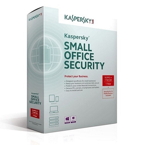 Kaspersky KSOS Small Office Security (1S+10 PC+10MD) 1 Yıl