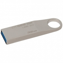 Kingston DataTraveler DTSE9G2/32GB 32GB USB 3.0 100MB/15MB/s Metal Kasa Flash Bellek