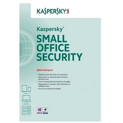 Kaspersky Small Offıce Security 3 1S+5K(+5K MD) 3 Yıl