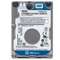 "WD Blue WD5000LPCX 500GB 2.5"" SATA3 5400 RPM 16MB Notebook Harddisk"