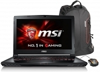 "MSI GS40 6QE(Phantom)-075TR Intel Core i7-6700HQ 2.6GHz / 3.5GHz 16GB 128GB SSD+1TB 3GB GTX970M 14"" Full HD W10 Notebook"
