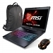 "MSI GS72 6QE(Stealth Pro)-243TR Intel Core i7-6700HQ 2.6GHz/3.5GHz 16GB 256GB SSD+1TB 3GB GTX970M 17.3"" Full HD Win 10 Gaming Notebook"
