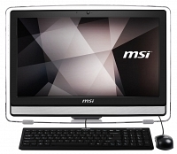 "MSI PRO 22ET 4BW-015XTR Intel Celeron N3150 1.6GHz 4GB 1TB 21.5"" Full HD FreeDOS Siyah Dokunmatik All In One Bilgisayar"
