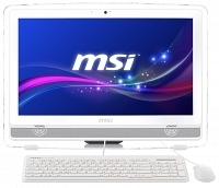 "MSI PRO 22ET 6M-007XTR Intel Core i5-6400 2.7GHz/3.3GHz 4GB 1TB 21.5"" Full HD FreeDOS Beyaz Dokunmatik All In One Bilgisayar"