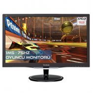 Viewsonic VX2457-MHD 23.6 Full HD HDMI+VGA+DP AMD FreeSync 1ms 75Hz Oyuncu Monitörü
