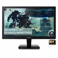 ViewSonic VX2475SMHL-4K 23.6 PLS Panel 4K UHD 2XHDMI/MHL+Display MM 2ms Oyuncu Monitörü