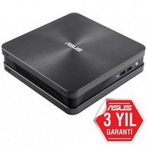 "Asus VivoMini VC65-G024M Core i3-6100T 3.2GHz 4G 500G 2.5"" Freedos KB+MS 3YIL HDMI-DP-VGA-Wifi-BT-VESA-CRD Mini PC"