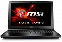 "MSI GL62 6QD-078XTR Intel Core i7-6700HQ 2.6GHz/3.5GHz 8GB 1TB 2GB GTX950M 15.6"" Full HD FreeDos Gaming Notebook"