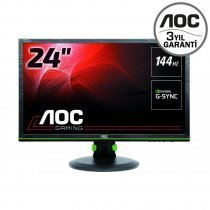 "AOC G2460PG 24"" 1ms (Display) Nvidia G-Sync Full HD LED (Gaming) Oyuncu Monitör"