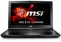 "MSI GL72 6QD-032XTR i7-6700HQ 2.6GHz 8GB 1TB 7200RPM 2GB GTX950M 17.3"" Full HD FreeDOS Notebook"