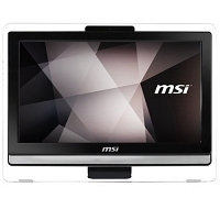 "MSI PRO 20E 6M-008XTR Intel Core i3-6100 3.7GHz 4GB 1TB 19.5"" HD+ FreeDos Siyah All In One Bilgisayar"