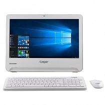 "Casper Nirvana One NAB.N284-4L05E Intel Celeron N2840 2.16GHz 4GB 500GB 18.5"" Led Windows 10 All In One PC"