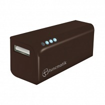 Tunçmatik Mini Charge 3000mAH Li-ion Powerbank Siyah (TSK6097)