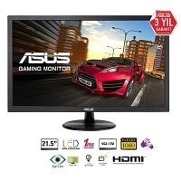 "Asus VP228H 21.5"" 1ms (Analog+DVI-D+HDMI) Full HD Oyuncu Monitör"