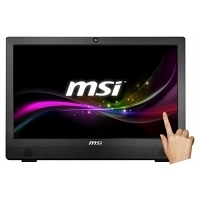 "MSI PRO 24T 6M-010XEU Intel Core i3-6100 3.7GHz 4GB 500GB 23.6"" Full HD FreeDOS Siyah Dokunmatik All In One PC"