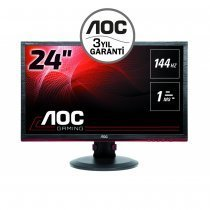 "AOC G2460PF 24"" 1ms 144Hz (Analog+DVI+HDMI+Display) Full HD FressSync Gaming Monitör"