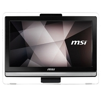 "MSI PRO 20ET 4BW-046XTR Intel Celeron N3160 1.60GHz 4GB 1TB 19.5"" HD+ Freedos Siyah All In One"