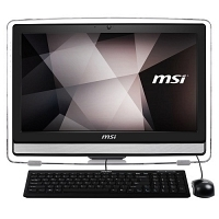 "MSI PRO 22ET 4BW-023XTR Intel Celeron N3160 1.60GHz 4GB 1TB 21.5 "" Full HD Freedos Siyah All In One"
