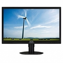 "Philips 241S4LCB/00 24"" W-LED 5ms DVI VESA Siyah Monitör"