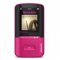Philips Vibe SA4VBE04PN/12 4GB Pembe MP4 Çalar