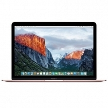 "Apple MacBook MMGL2TU/A 12"" Intel Core M3-6Y30 1.1GHz 8GB 256GB SSD OS X El Capitan (Rose Gold)"