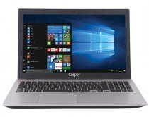 "Casper Nirvana F600 F600.7200-8T45T-S i5-7200U 2.50GHz 8GB 1TB 2GB 940MX 15.6"" Win10 Notebook"