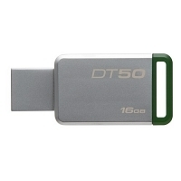 Kingston DataTraveler 50 16GB USB 3.1 Yeşil USB Bellek DT50/16GB