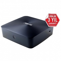Asus VivoMini UN65H-M227M Intel Core i3-6100U 2.30GHz (Ram-Disk-KM Yok) HDMI/DP Wifi BT FreeDOS Mini PC