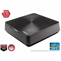 "Asus VivoPC VM62-G305M Intel Core i3-4005U 1.70GHz 4GB 1TB 3.5"" HDMI/DP Wifi ac BT FreeDOS Mini PC"