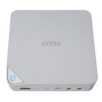 MSI CUBI 2-003XEU Intel Core i3-7100U 2.40GHz 4GB DDR4 128GB SSD FreeDOS Beyaz Mini PC