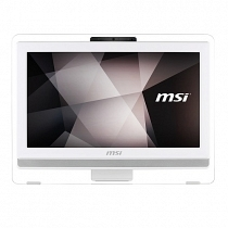 "MSI PRO 20ET 4BW-045XEU Intel Celeron N3160 1.60GHz/2.24GHz 4GB 1TB 19.5"" HD+ Dokunmaktik FreeDOS Beyaz All In One PC"