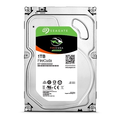 "Seagate Firecuda ST1000DX002 3.5"" 1TB 7200Rpm 64MB 8GB 210MB/s SATA3 SSHD Performans Gaming Harddisk"