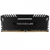 Corsair Vengeance LED CMU16GX4M2C3000C15 16GB (2 x 8GB) DDR4 DRAM 3000MHz C15 White LED Bellek