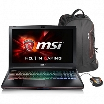 MSI GE62 7RD(Apache)-206XTR Intel Core i7-7700HQ 2.80GHz 16GB DDR4 256GB SSD + 1TB 7200Rpm 4GB GTX1050 15.6'' Full HD FreeDOS Gaming (Oyuncu) Notebook