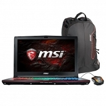 MSI GE62VR 7RF(Apache Pro)-425XTR Intel Core i7-7700HQ 2.80GHz 16GB DDR4 128GB SSD + 1TB 7200Rpm 3GB GTX 1060 15.6'' Full HD FreeDOS Gaming (Oyuncu) Notebook