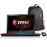 MSI GE72 7RE(Apache Pro)-235XTR Intel Core i7-7700HQ 2.80GHz 32GB DDR4 128GB SSD + 1TB 7200Rpm 4GB GTX1050 Ti 17.3'' Full HD FreeDOS Gaming (Oyuncu) Notebook