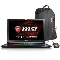MSI GS63VR 7RF(Stealth Pro)-267XTR Intel Core i7-7700HQ 2.80GHz 16GB DDR4 128GB SSD + 1TB 7200Rpm 6GB GTX 1060 15.6'' Full HD FreeDOS Gaming (Oyuncu) Notebook