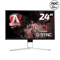 "AOC Agon AG241QG 23.8"" 1ms (2560x1440) (HDMI+Display+4xUSB) Nvidia G-SYNC Gaming (Oyuncu) Monitör"
