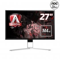 "AOC Agon AG271QX 27"" 2560x1440 1ms 144Hz (Display+DVI-D+HDMI+Analog) FreeSync Gaming (Oyuncu) Monitör"