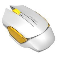 James Donkey 102 Wireless Beyaz Optik 6 Tuş 2000 DPI Omron Switch USB Gaming Mouse