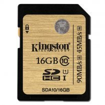 Kingston 16GB SDHC Class 10 UHS-I 90-45MB/s Hafıza Kartı SDA10/16GB