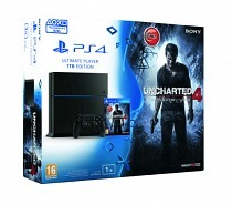 Sony Playstation 4 1TB Ultimate Player Edition Oyun Konsolu+Uncharted 4 Oyun(Türkçe Dublaj)