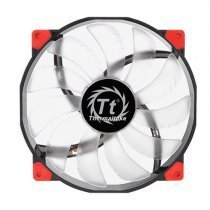 Thermaltake CL-F025-PL20RE-A Luna Anti-Vibration 200 mm Kırmızı Led'li Sessiz Fan